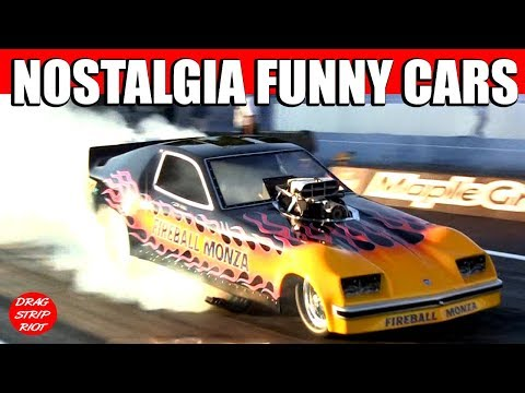 2012 Maple Grove Raceway 50th Nostalgia Funny Cars 1/4 Mile Drag Racing Video