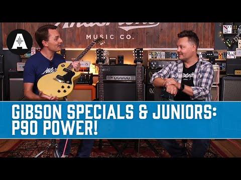 Gibson Specials vs Juniors - P90-powered beauties!