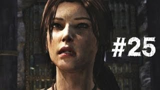 Tomb Raider Gameplay Walkthrough Part 25 - Drop the Elevator (2013)