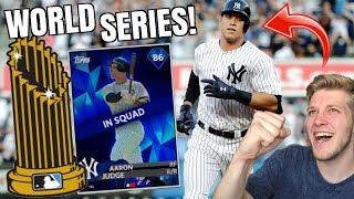 World Series Grind! Diamond Aaron Judge Leads The Way! MLB The Show 18 Ranked Seasons