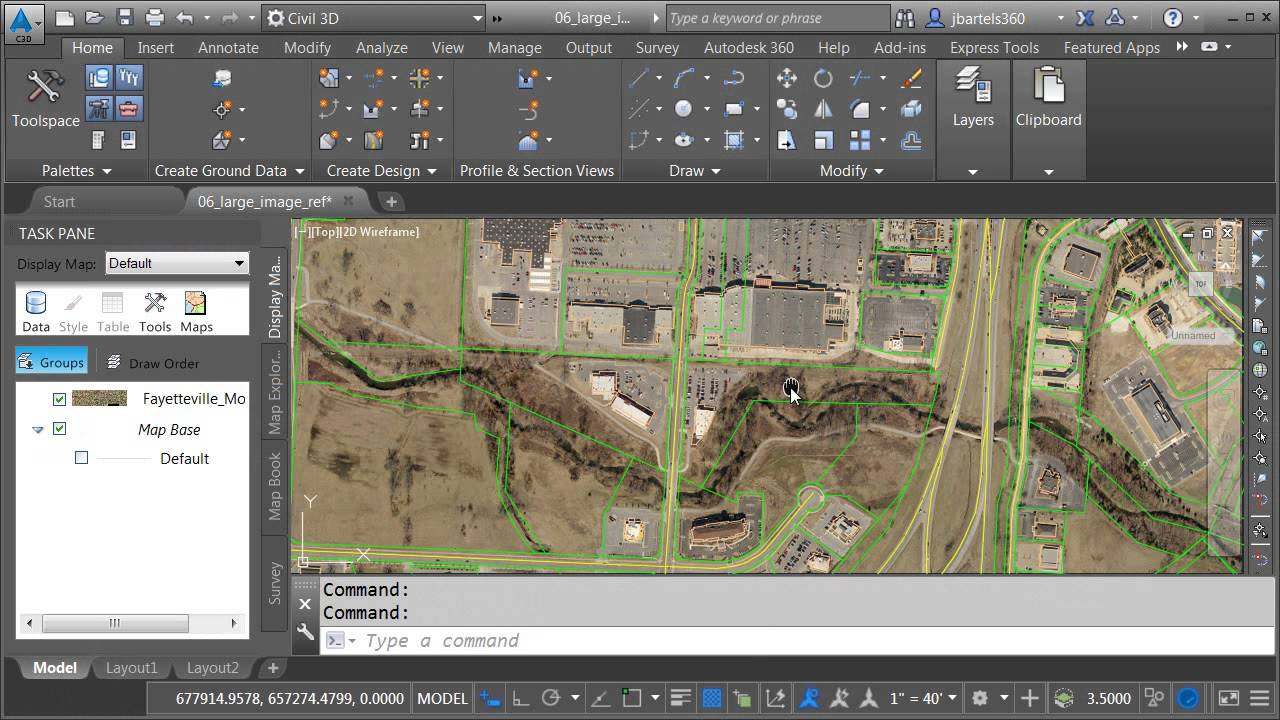 Managing large images within Civil 3D drawings   YouTube Managing large images within Civil 3D drawings
