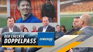 Das sagt Rosen zu Nagelsmanns Bayern-Flirt | SPORT1 DOPPELPASS