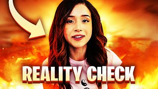 Giving Pokimane A BRЏTAL Reality Check **exposing her awful lies**
