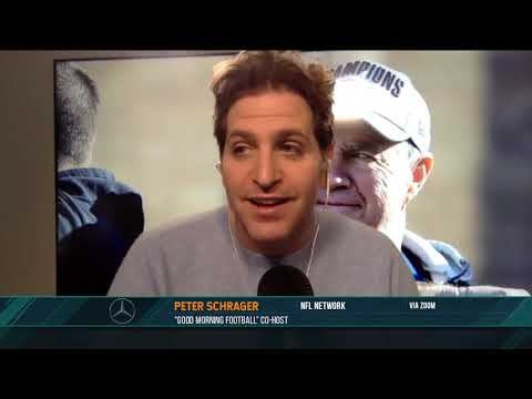 Peter Schrager discusses the current state of the wide receiver free agent market   03/18/21