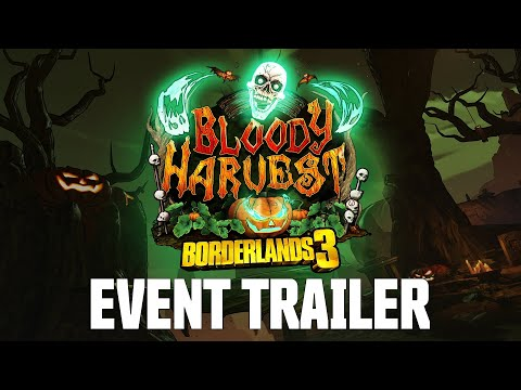 Borderlands 3 Bloody Harvest Event trailer is full of skulls and loot