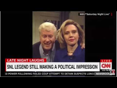CNN interviews Trump impersonator Darrell Hammond - DNC convention