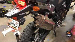 Africa Twin SIMPLE Exhaust MOD - CRF1000l