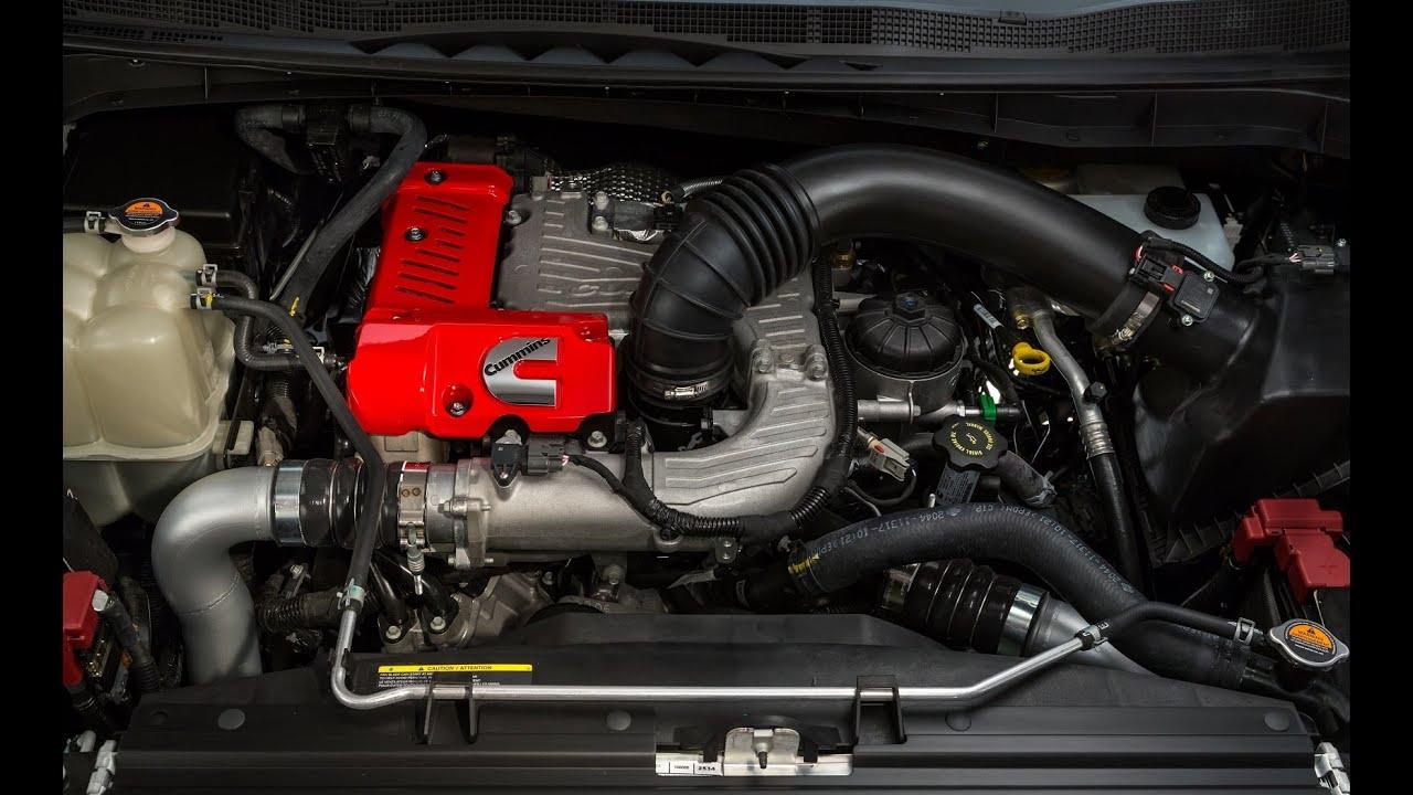 Nissan Titan XD Cummins 5.0L V8 Turbo Diesel - YouTube