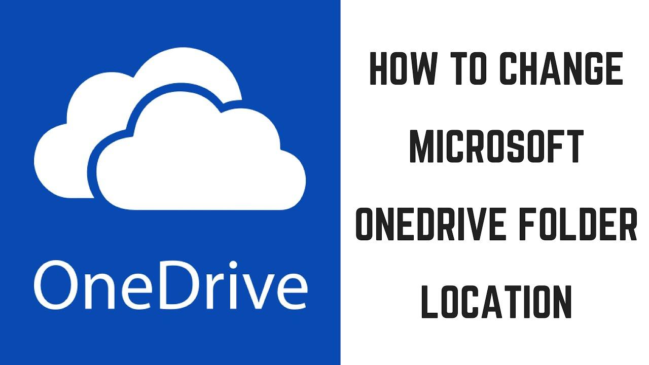 How to change microsoft onedrive folder location youtube how to change microsoft onedrive folder location stopboris Gallery