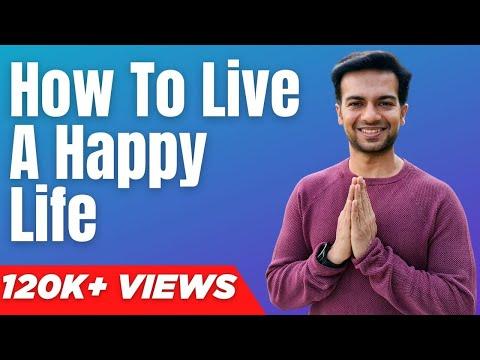 How To Live A Happy Life Dynamic Yoga Program Youtube