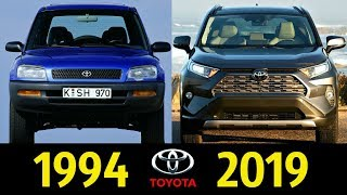 Toyota RAV4 - Эволюция (1994 2019) !  История Модели !