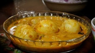 egg curry with coconut milk simple tasty with boiled eggs or poached eggs
