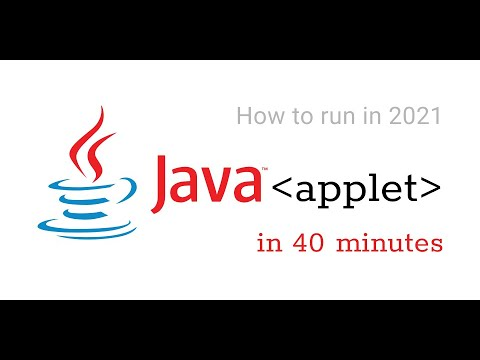 Download (2021) Learn Java Applets in 40 minutes + (Digital Clock Project)