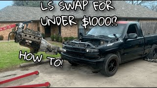 HOW TO: LS SWAP A NBS SILVERADO