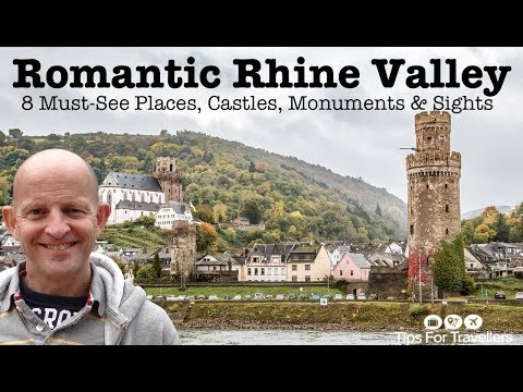 Exploring Romantic Rhine River Valley Germany. The 8 Must-see Places, Castles, Monuments And Sights