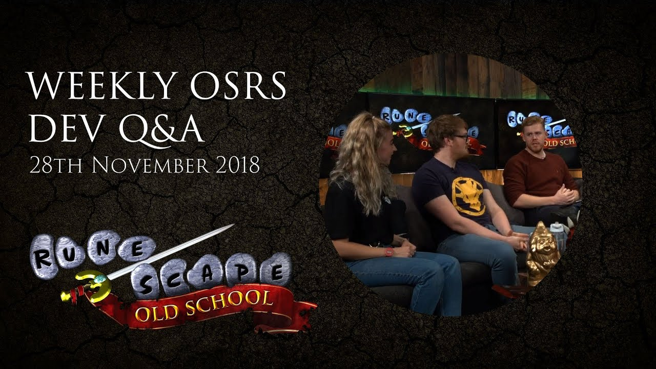 OSRS Q&A - New Mod, All Stars recap, Kebos, and more!
