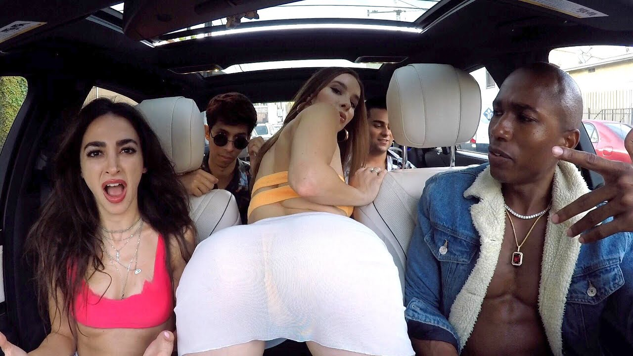 Uber driver Raps Fast For Girls In $250,000 Car!
