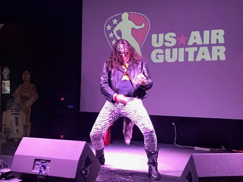 We Go Back To The Future With The 2018 Orlando US Air Guitar Championships!