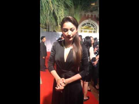 Gauhar Khan at the L'Oreal Paris-Femina Woman Awards