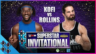 KOFI KINGSTON vs. SETH ROLLINS: FINALS - WWE 2K18 Superstar Invitational Tournament