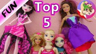 Makijaż dla Barbie - TOP 5  | Która Barbie jest najładniej umalowana? Porównanie makijaży