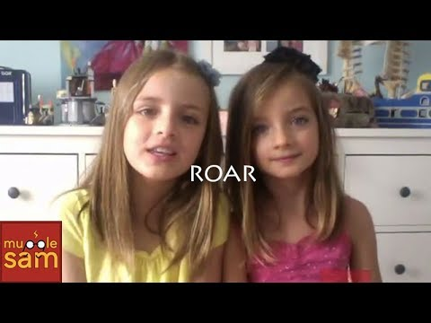 KATY PERRY  ROAR 🎵 10YearOld Sophia & 8YearOld Bella Mugglesam