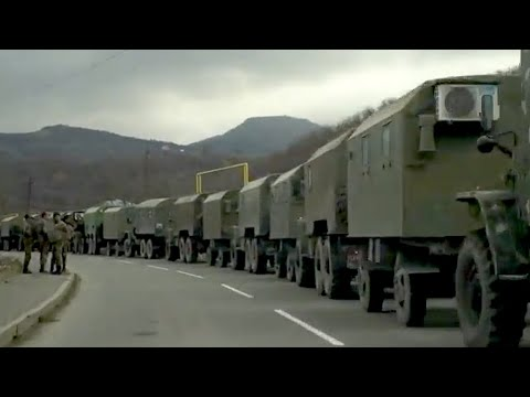 Տեսանյութ.Շարան-շարան հայկական զորքը դուրս է բերվում Քարվաճառից