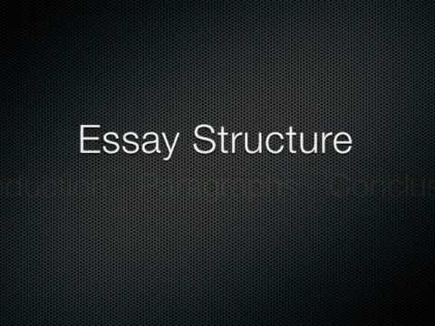 How to Write an Essay - Basic Essay Structure in 3 Minutes