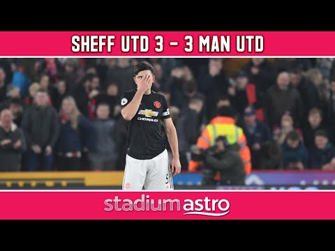 Sheffield United 3 - 3 Manchester United   EPL Highlights   Astro SuperSport