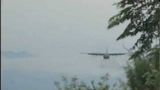 Pouso C-130 Guaratinguetá SBGW 'com audio' thumbnail