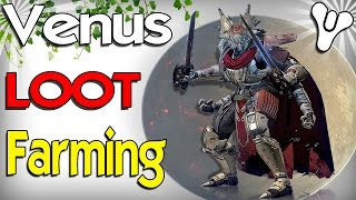 Destiny: Fast Venus Chest Farm Run! (Fast Legendary Engrams, Spirit Blooms, Ascendant Shards/Energy)