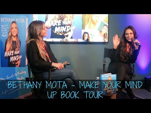 BETHANY MOTA MAKE YOUR MIND UP BOOK TOUR