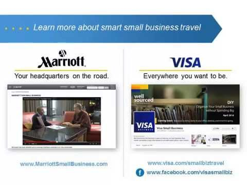 Small Business Travel: Strategic Ways to Increase Your Return on Travel with Marriott and Visa
