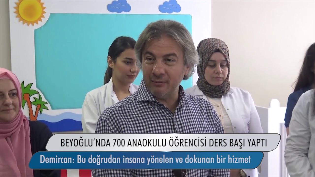 Beyoğlu'nda 700 Anaokulu Öğrencisi Ders Başı Yaptı