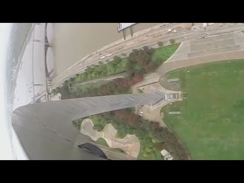 Gravity-defying views from the Gateway Arch