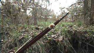 Deer hunting with a primitive bow!