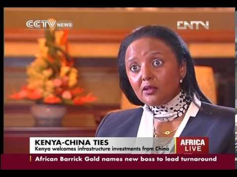 Exclusive interview  Kenya welcomes infrastructure investments from China