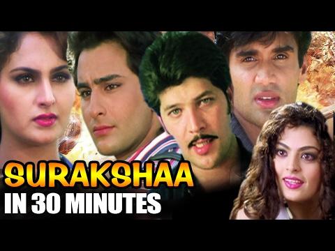 Hindi Action Movie | Surakshaa | Showreel...