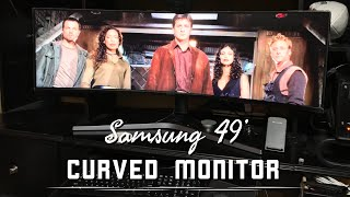 Samsung CHG90 Series Curved 49-Inch QLED Gaming Computer Monitor Review