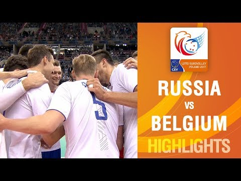 Highlights | Russia vs Belgium | LOTTO EUROVOLLEY POLAND 2017