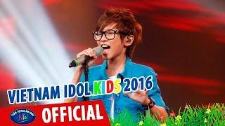 vietnam idol kids 2016 - gala 2 - cha - thien tung