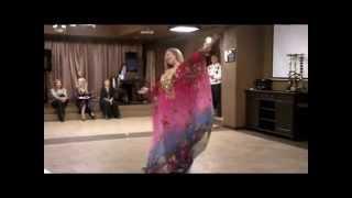 "Евгения Салмина Танец ""Халиджи""  - ""TV SHANS"""