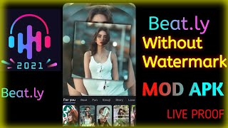 Beat.ly without watermark || beat.ly music video maker with effects mod apk || Beat.ly edits screenshot 5