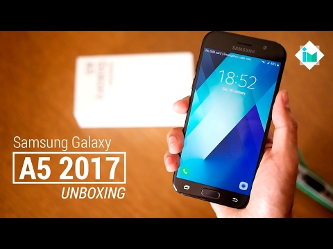 Samsung Galaxy A5 2017 - Unboxing en español