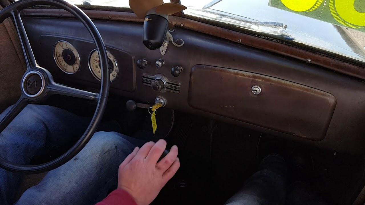 1936 Chevrolet running and driving