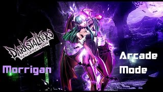 Darkstalkers Resurrection: Morrigan Arcade Mode
