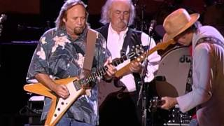 "Crosby, Stills, Nash & Young perform ""Almost Cut My Hair"" at the Fa..."