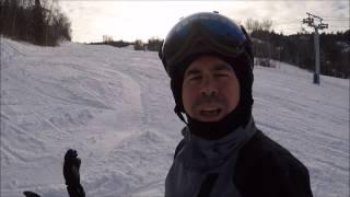 Ski VLOG à Sommet Edelweiss - 1 janvier 2017 - GoPro