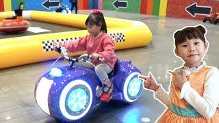 라임의 킨텍스 상상체험 키즈월드 실내놀이터 1편 전동 자동차 체험! Image Kids World Indoor Playground & ride on toy car
