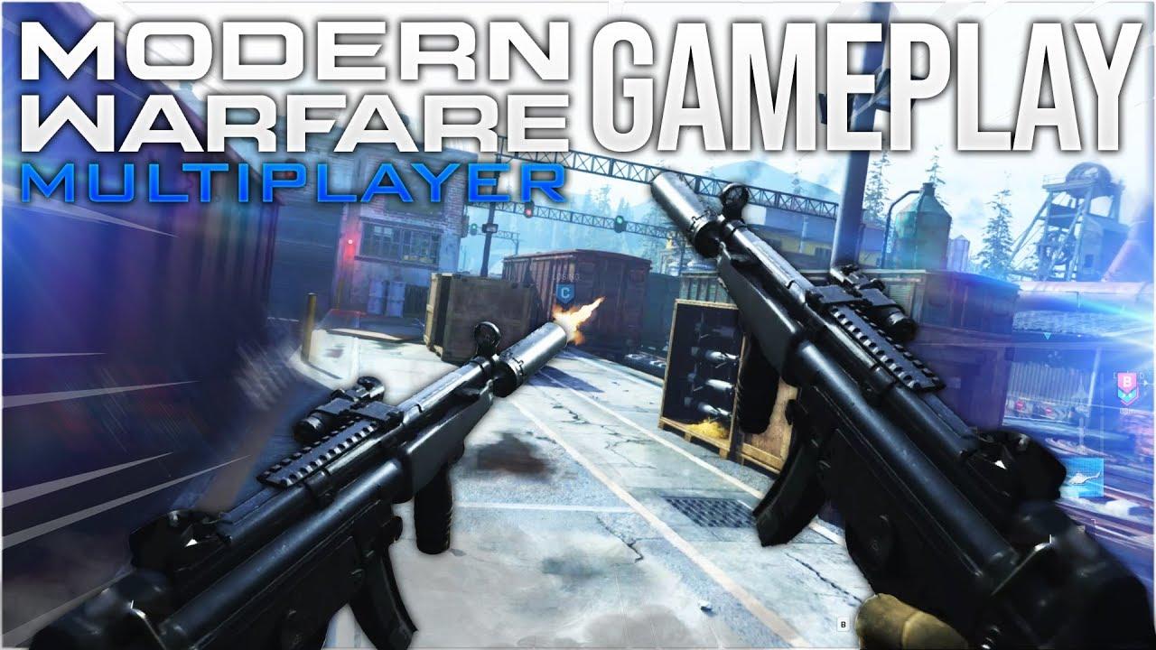 Call Of Duty Modern Warfare Multiplayer Gameplay Youtube